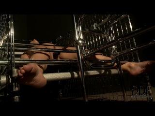Секс-машина оттрахала связанную рабыню