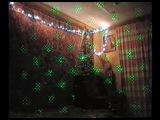 Видео-клип.Новый год 2014г.Ёлка с лазерными эффектами.
